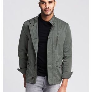 Banana republic Ryder jacket in green size small